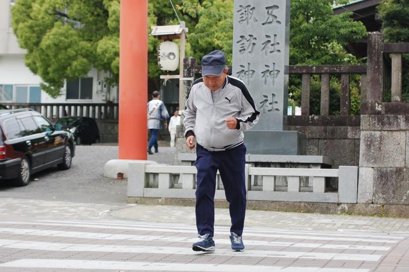 袴田巖さん81歳のロードワーク:...