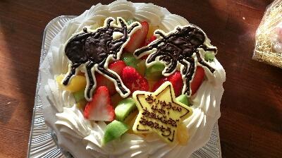 カブトムシ ケーキ